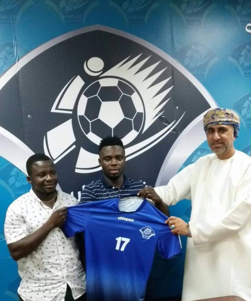 Ghanaian midfielder Ernest Ohene keen to succeed at Omani side Al Shabab