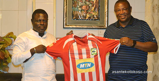 Asante Kotoko gives Paa Kwesi a vote of confidence ahead of Bechem United clash