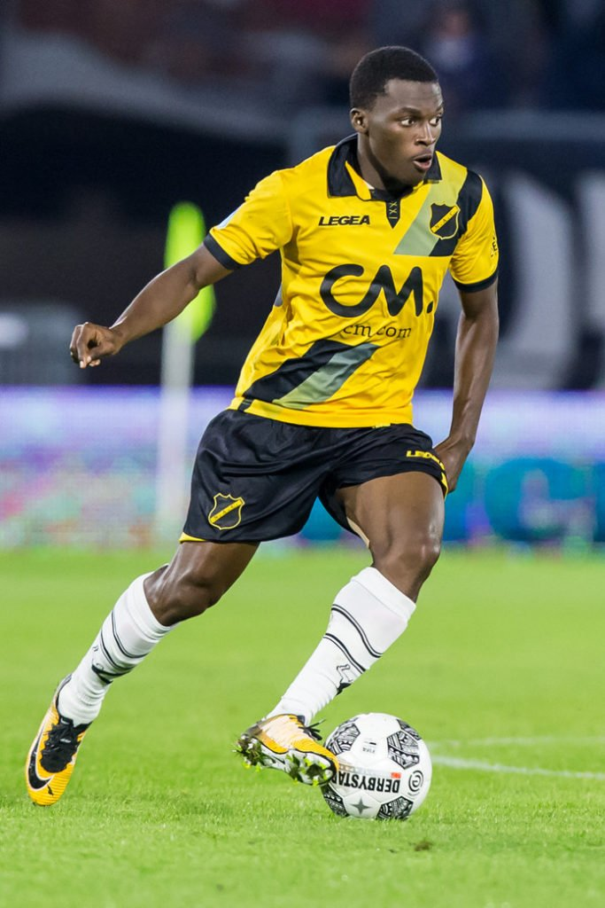Hamstrung Thomas Agyepong set to miss NAC Breda clash against Roda JC