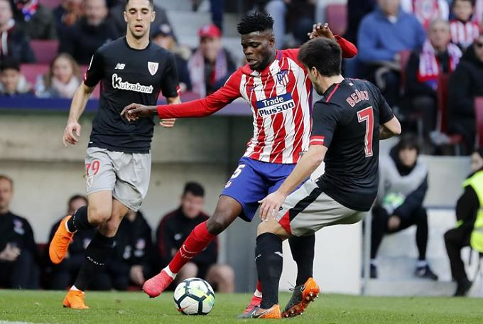 Atletico Madrid coach Diego Simeone hails Partey's maturity after win over Athletic Bilbao