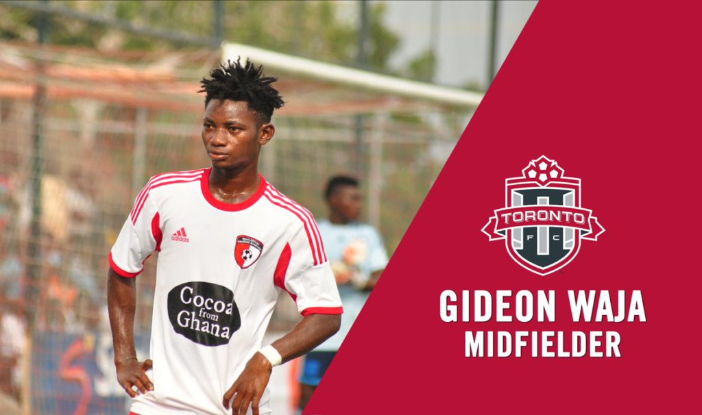 OFFICIAL: USL side Toronto FC II announce signing WAFA captain Gideon Waja
