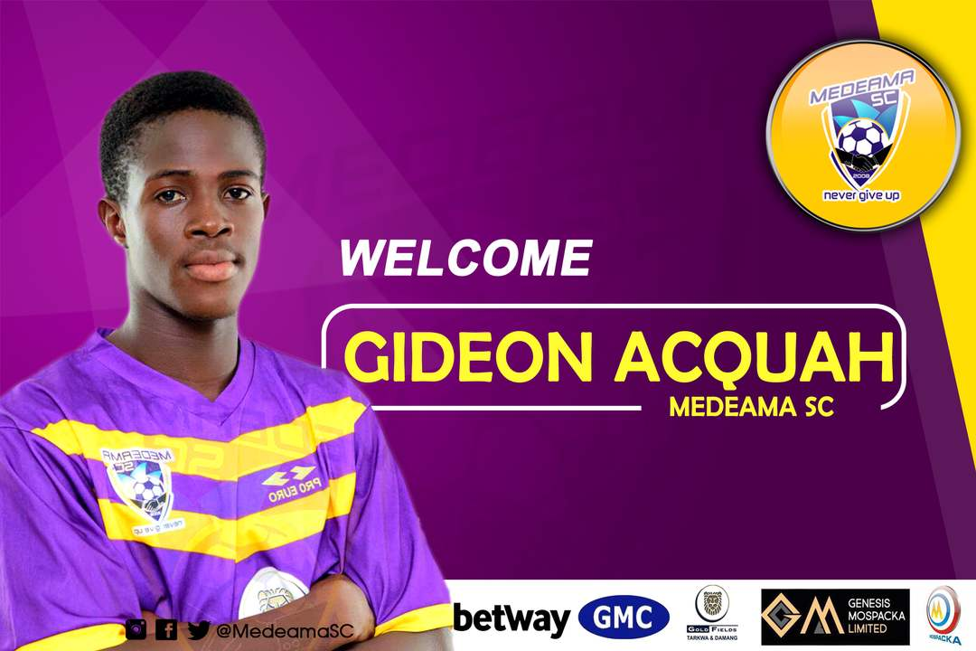 Medeama new boy Gideon Acquah thrilled to join two-time FA Cup winners