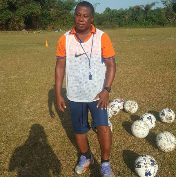 Kobina Amissah officially starts work as Nzema Kotoko head coach