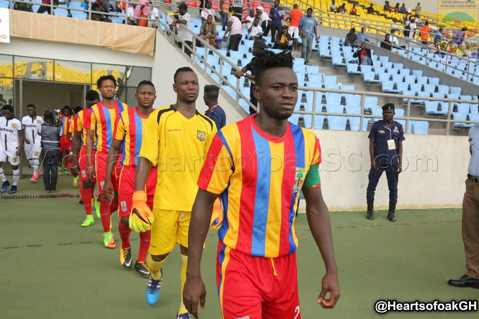 Hearts of Oak right back Fatawu Mohammed returns to training after six-week injury layoff