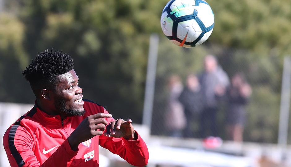 Thomas Partey named in Atletico Madrid's squad to face Deportivo La Coruna