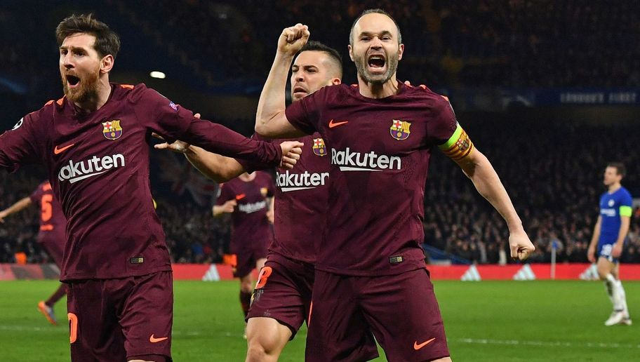 Barcelona's Andres Iniesta Back Running in Training Ahead of Champions League Clash With Chelsea