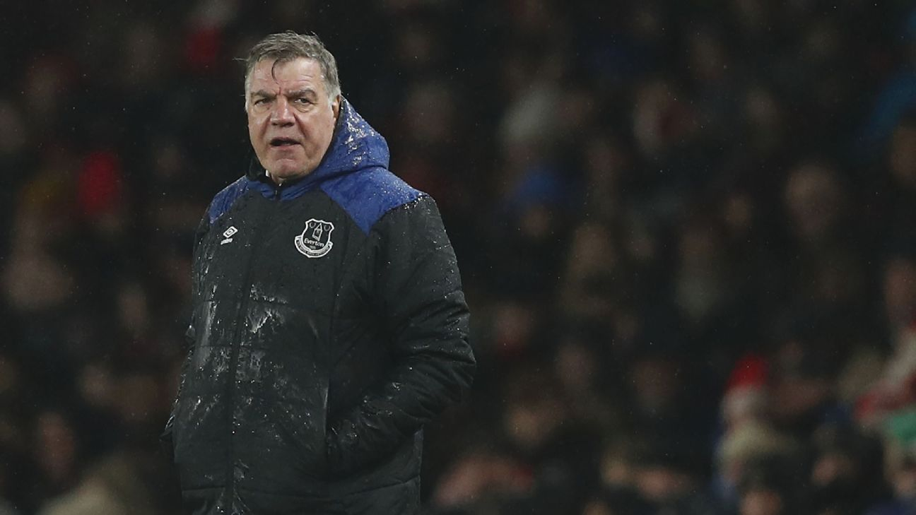 Everton boss Sam Allardyce determined to stay for 'long term' despite struggles