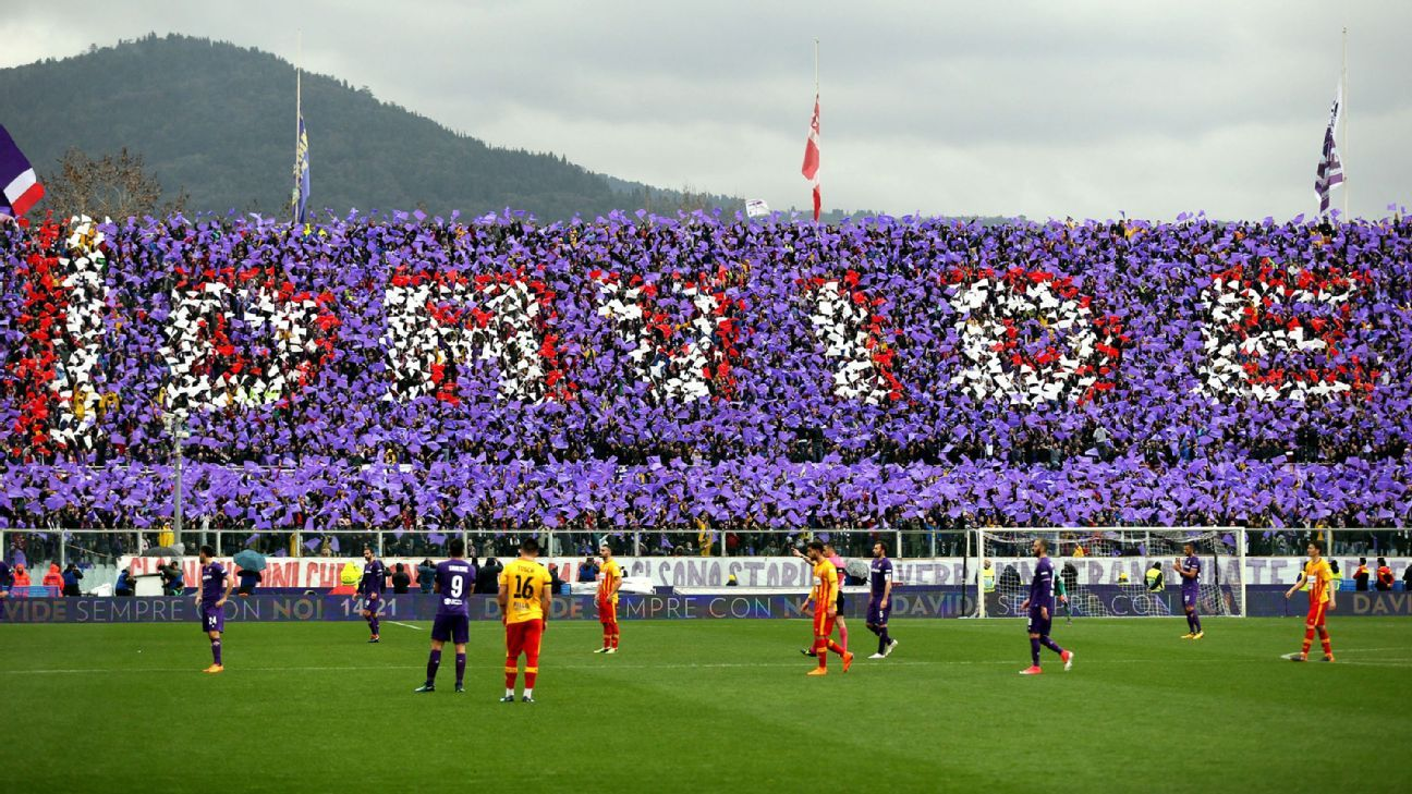 Fiorentina pay tribute to Davide Astori during win over Benevento - Ghana  Latest Football News, Live Scores, Results - GHANAsoccernet