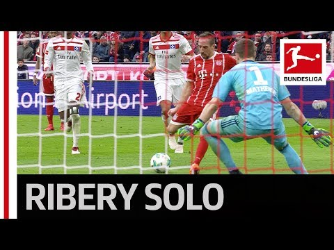 Ribery Celebrates With His Son - Bundesliga Goal No. 51.000 & A Special Solo!