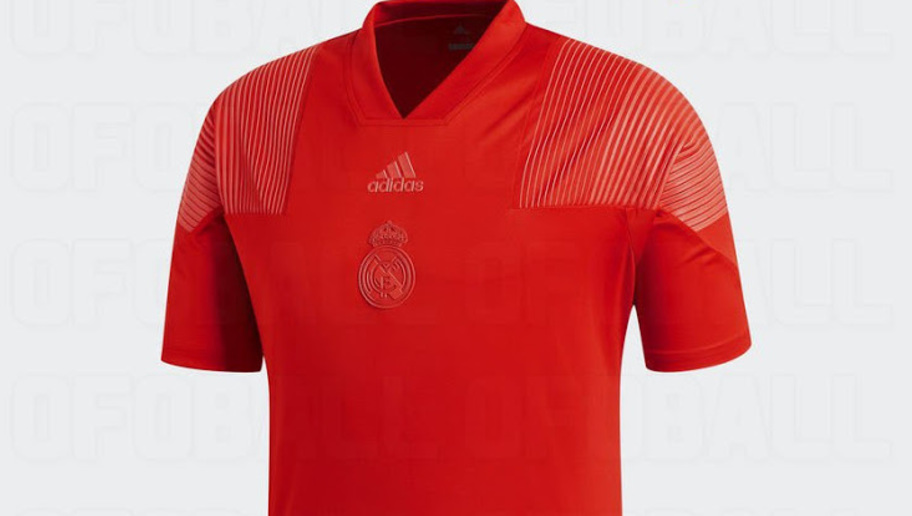reputable site 8e0bd f7597 PHOTO: Designs for Real Madrid's 'Tango Red' 3rd Strip for ...
