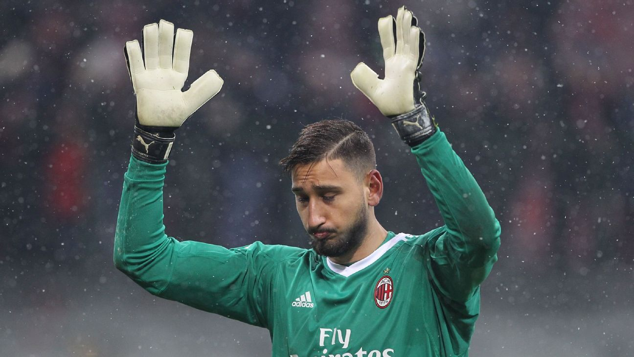 AC Milan insist Gianluigi Donnarumma to stay 'for a long time' amid Pepe Reina links