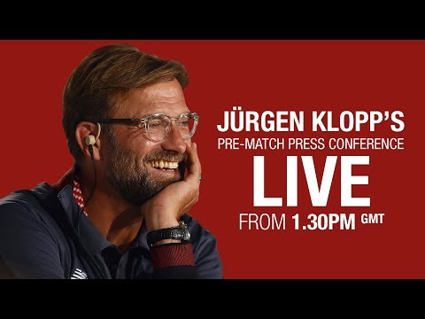 Jürgen Klopp's Watford press conference from Melwood