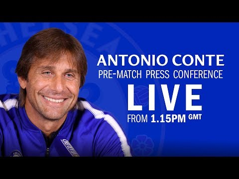 Antonio Conte Press Conference | Leicester v Chelsea