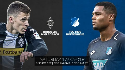 Gladbach vs. Hoffenheim: LIVE build-up! Two young Bundesliga stars meet as Thorgan Hazard's injury-stricken Foals host Gnabry's Hoffenheim. vor 2 Stunden