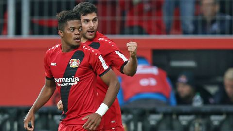 Cologne vs. Leverkusen: Team news Leon Bailey & Co. can push Rhineland neighbours Cologne closer to the trap door on Sunday... vor 2 Stunden