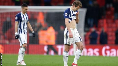 West Brom let another lead slip - Saturday's best Premier League stats