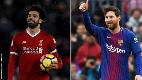 Salah 'on his way' to earning Messi comparisons - Klopp