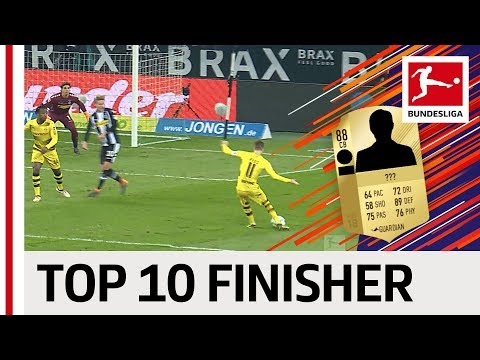 EA SPORTS FIFA 18 - Top 10 Bundesliga Finishers: Batshuayi, Lewandowski, Reus & More