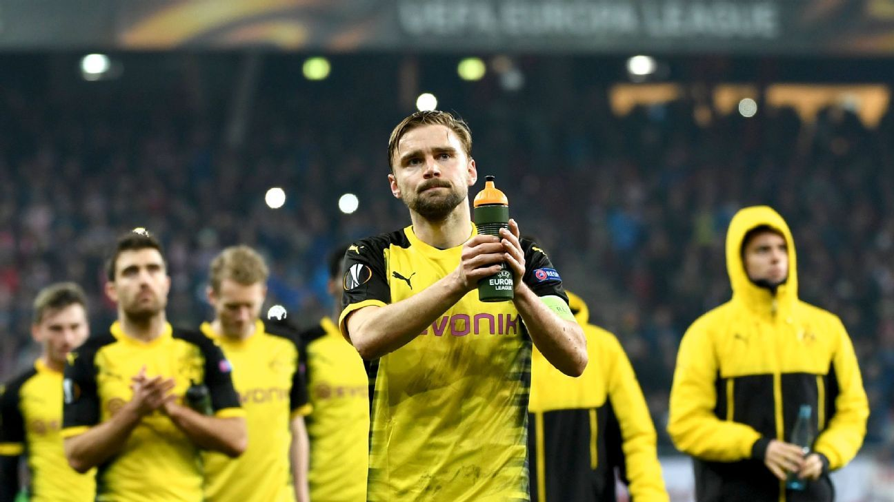 Europa League exit exposes Borussia Dortmund's shortage of confidence