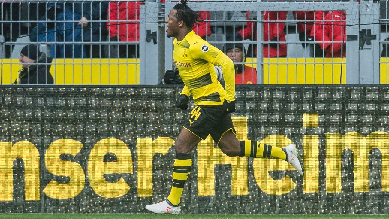 Batshuayi leads Dortmund to comprehensive win over Hannover