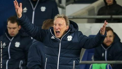 Postponement at Derby 'disgraceful', says Cardiff boss Warnock