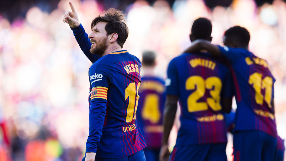 Barcelona 2-0 Athletic: Alcacer & Messi Ease Barca to Victory With Scintillating First Half Display