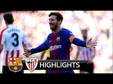 Barcelona vs Athletic Bilbao 2-0 - All Goals & Extended Highlights - La Liga 18/03/2018 HD