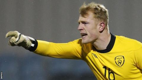Keeper McCarey drafted into Republic of Ireland squad