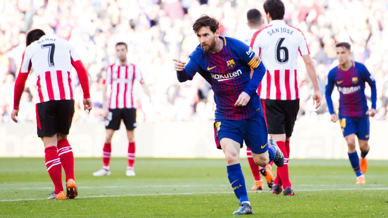 Lionel Messi, Philippe Coutinho both 8/10 in comfortable win over Bilbao