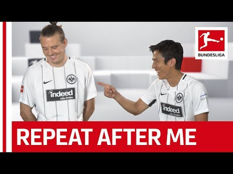 Hasebe Teaching His Teammates Japanese - Repeat After Me Challenge