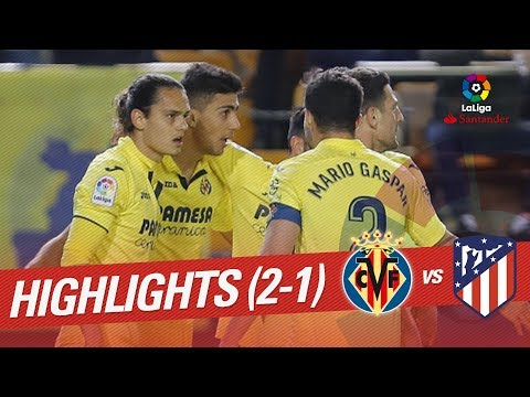Resumen de Villarreal CF vs Atlético de Madrid (2-1)