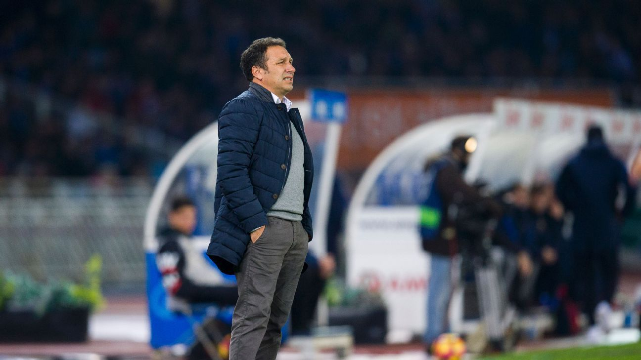 Real Sociedad sack coach Eusebio Sacristan with nine games left
