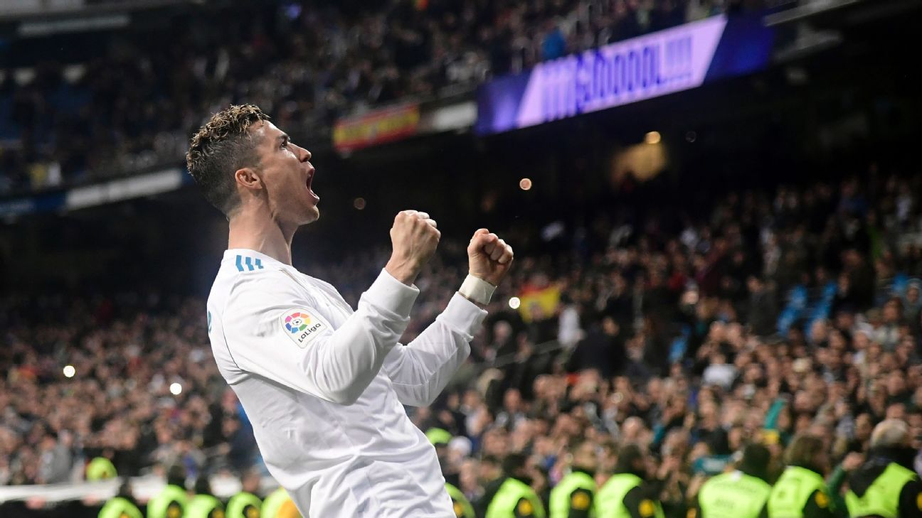 Cristiano Ronaldo absolutely faultless in four-goal display