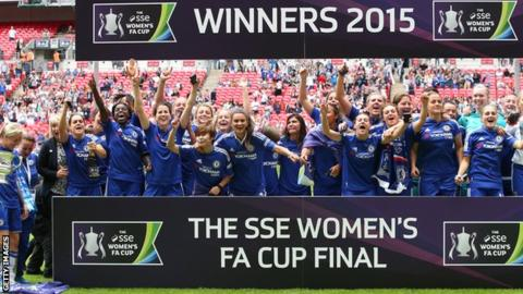 Chelsea to host Sunderland or Man City in Women's FA Cup semi-finals