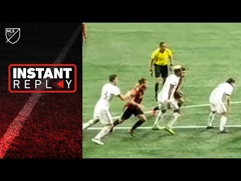 FAN gives us ANOTHER look at the red card in Atlanta