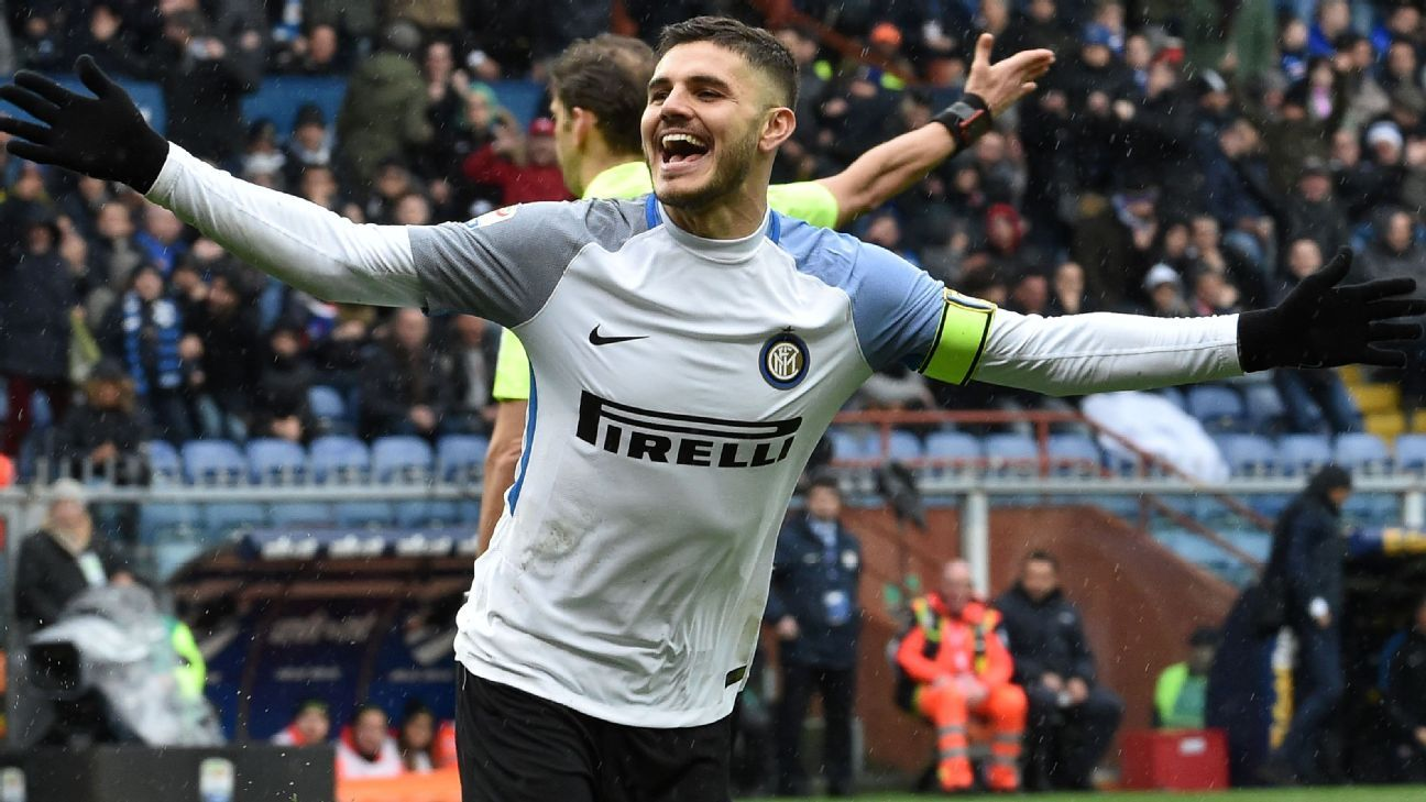Inter Milan's Mauro Icardi increasing in value - agent, wife Wanda Nara