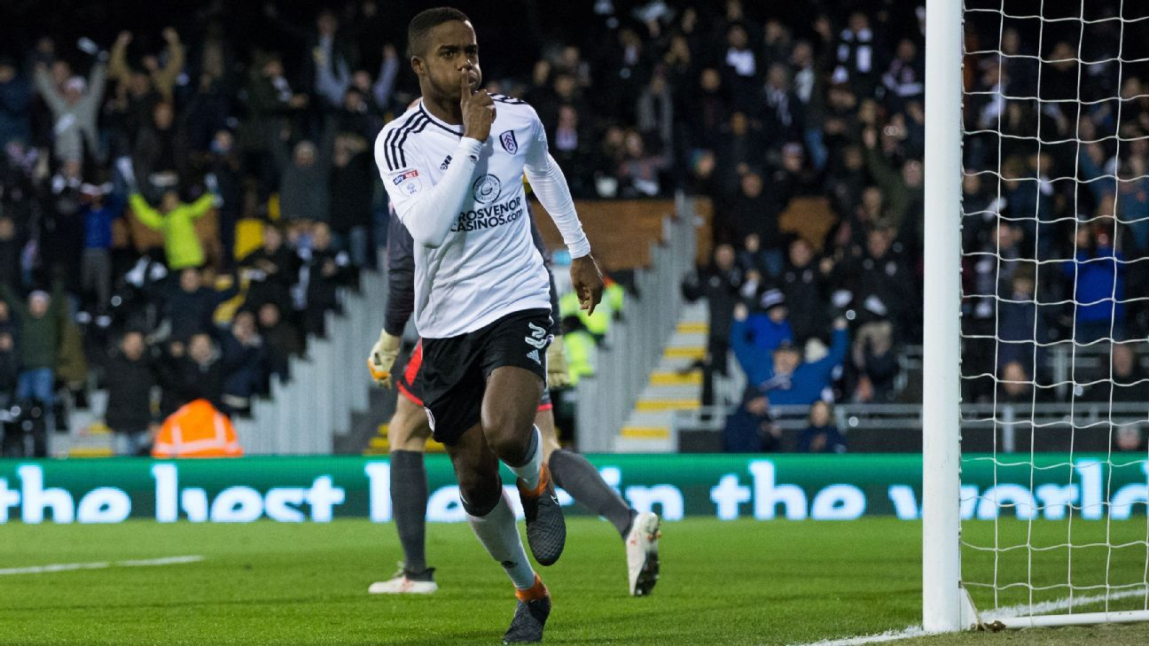 Fulham's Ryan Sessegnon compared to Bale, but more like Salah or Sterling