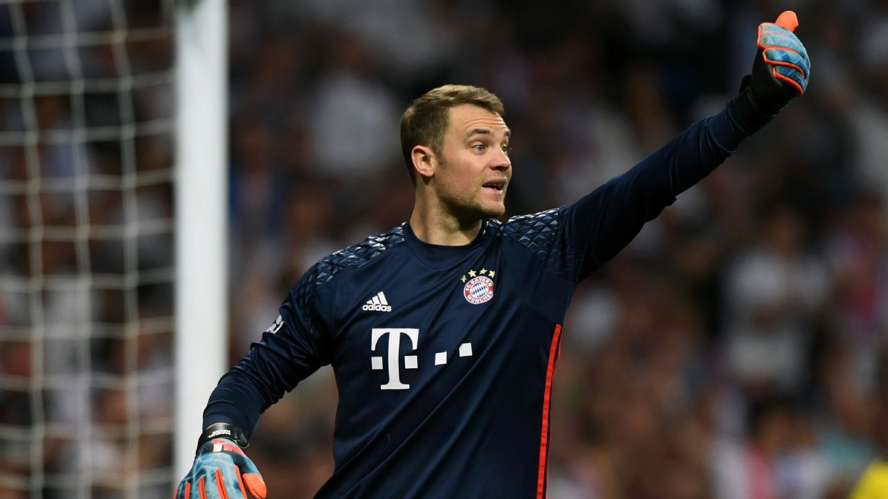 Germany 'still very positive' Manuel Neuer will be fit for World Cup - chief
