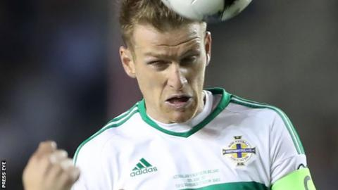 Northern Ireland captain Steven Davis out of South Korea friendly in Belfast