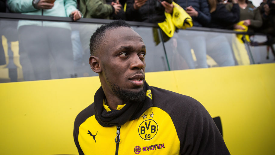 VIDEO: Usain Bolt Takes Part in First Dortmund Training Session as Club Dismiss PR Stunt Claims