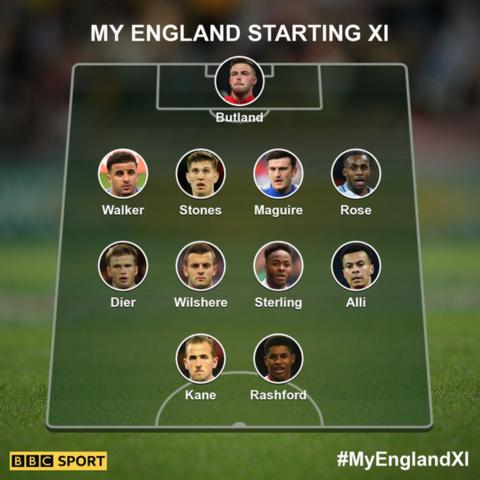 Kane and Rashford up front? Pick your England World Cup team