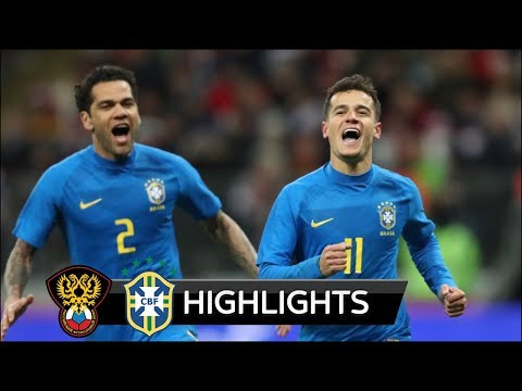 Russia vs Brazil 0-3 - All Goals & Extended Highlights - Friendly 23/03/2018 HD