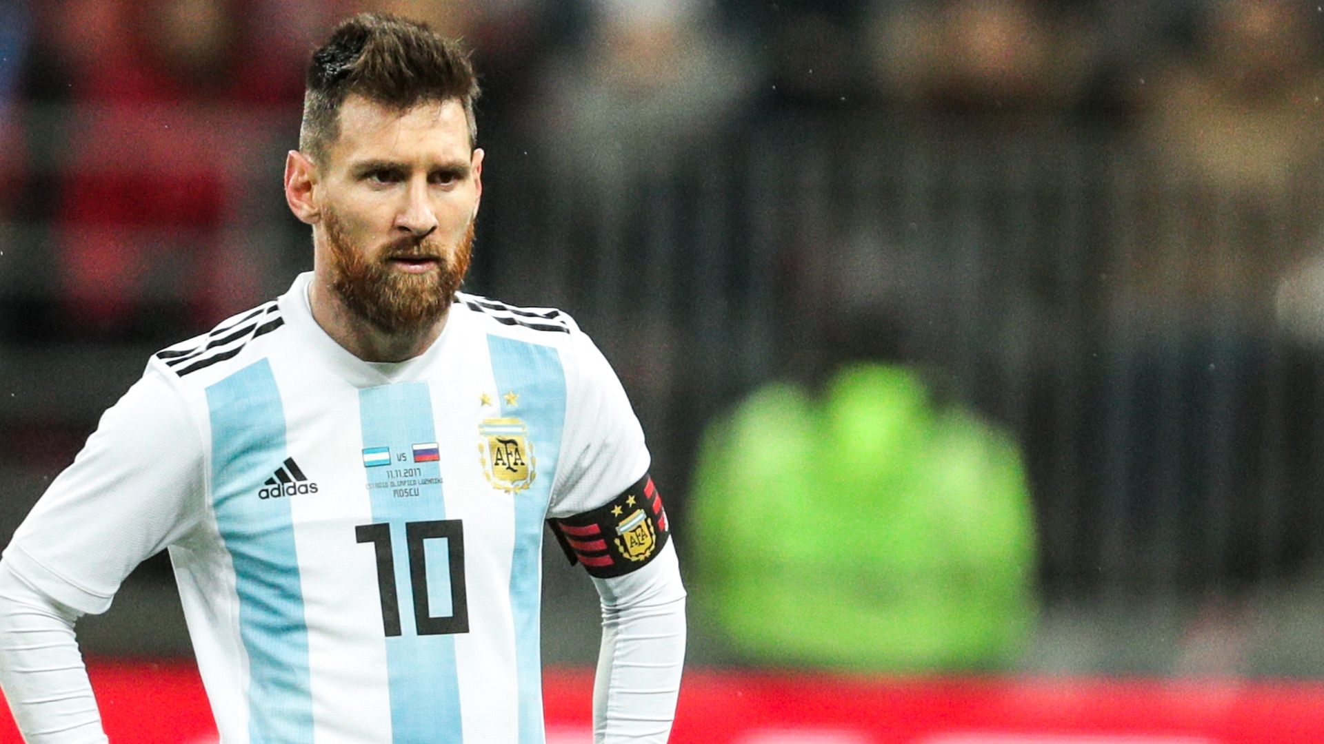 Messi out for Argentina; Aguero withdraws