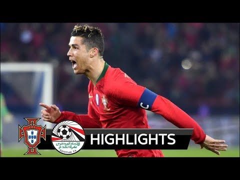 Portugal vs Egypt 2-1 - All Goals & Extended Highlights - Friendly 23/03/2018 HD