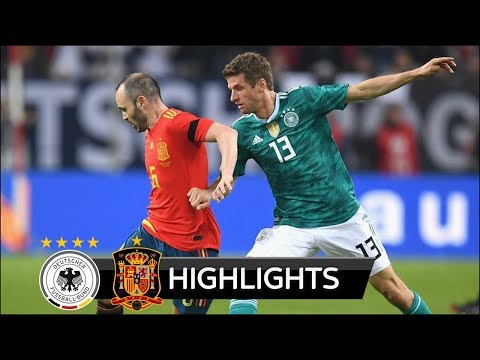 GER vs SPA 1-1 - All Goals & Extended Highlights - 23/03/2018 HD