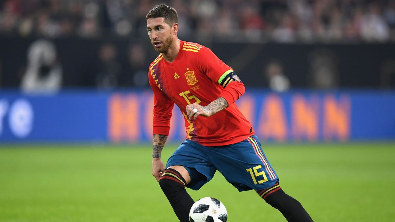 Sergio Ramos reaches 150 caps for Spain: six of his best appearances