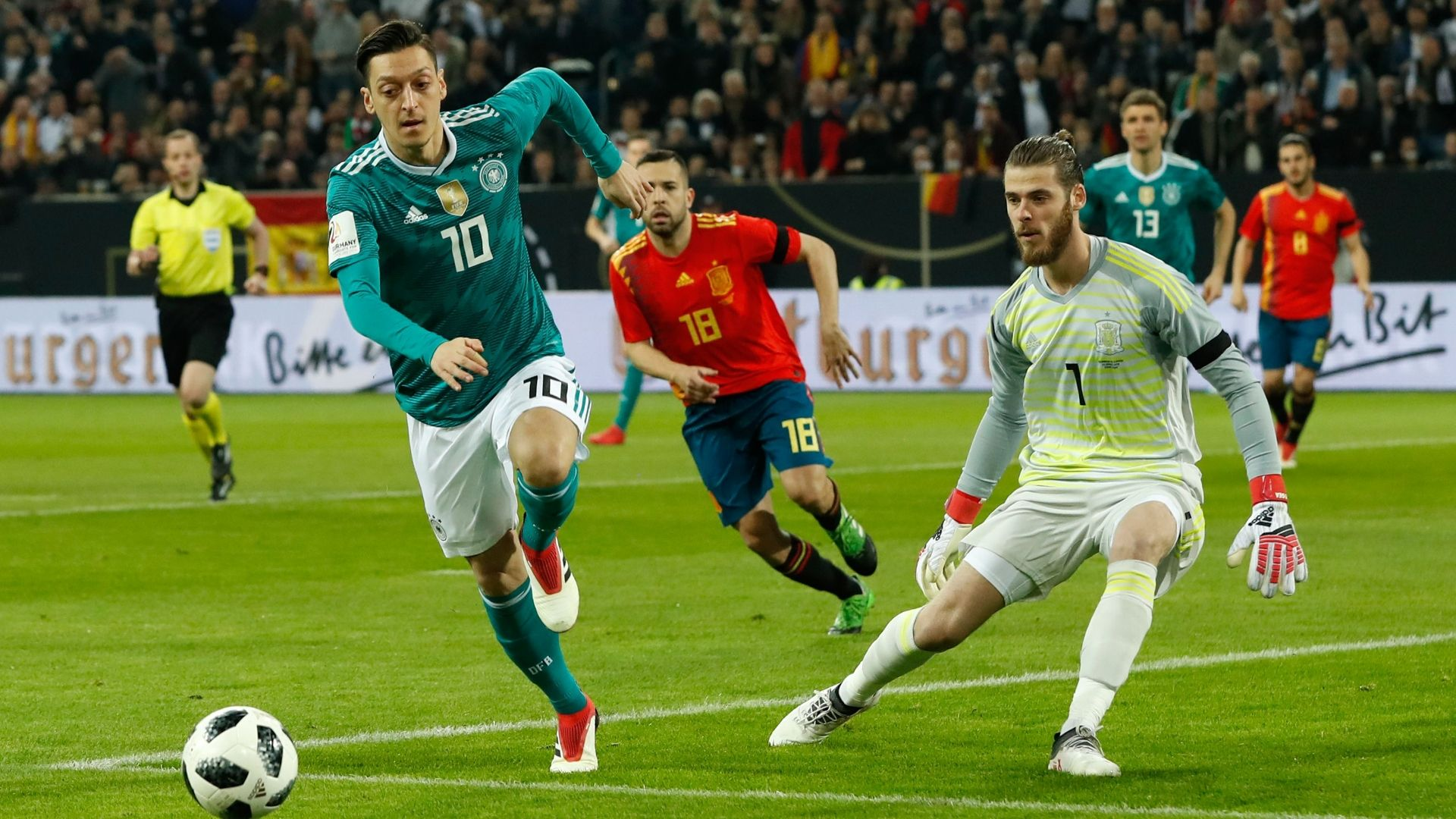 Germany-Spain draw good for fans - Low