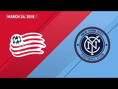 HIGHLIGHTS: New England Revolution vs. New York City FC | March 24, 2018