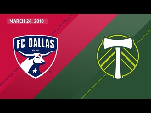 HIGHLIGHTS: FC Dallas vs. Portland Timbers | March 24, 2018