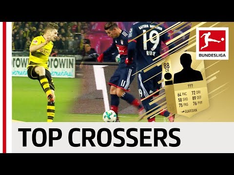 EA SPORTS FIFA 18 - Top 10 Bundesliga Crossers - James, Kimmich, Piszczek & Co.